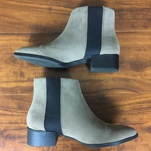 H&M Faux Suede Ankle Boots Size 6 (EURO 36)